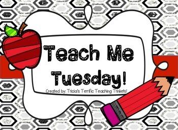 Teach Me Tuesday Freebie