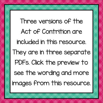image about Act of Contrition Prayer Printable named Catholic Faith Act of Contrition Prayer