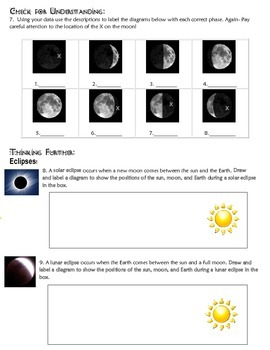 Teach Moon Phases in an activity using styrofoam balls and lights.