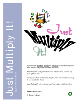 Teach Multiplication table with Just Multiply It