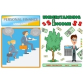 BUNDLE Editable Personal Finance and Understand Income For