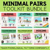 Teach Phonology BUNDLE: Story & Minimal Pair Cards