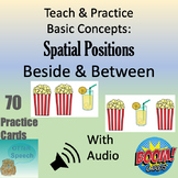 Teach & Practice Basic Concepts:  Spatial Positions - Beside & Between