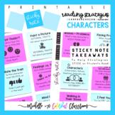 Teach Reading Strategies: Comprehension - Characters - Pri