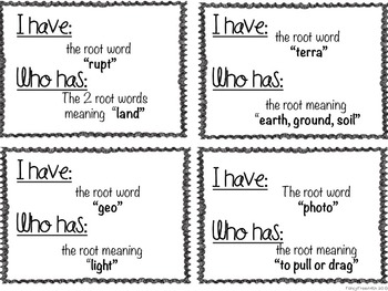 Teach Root Words All Year Long