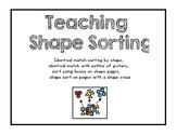 Teach Shape Sorting