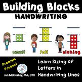 Teach Sizing Building Blocks Handwriting Program