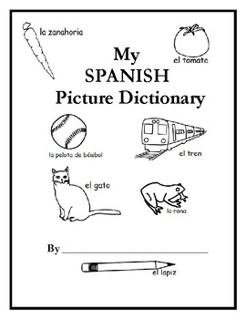 Printable Spanish Picture Dictionary
