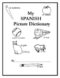 Printable Interactive Spanish Picture Dictionary