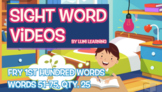 Fry 1st 100, Sight Word Videos #51-75: Teach Spelling, Mea