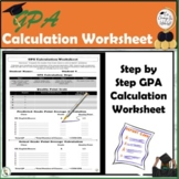 Teach Students How to Calculate Their GPA