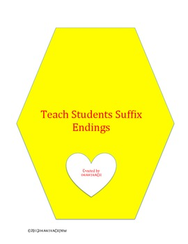 Teach Suffix Endings