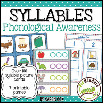 Teach Syllables | Phonological Awareness | Pre-K and K