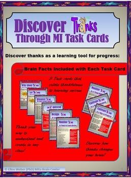 Teach Thanks Through Brain Based Task Cards