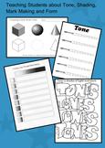 Teaching Tone & Shading Worksheets