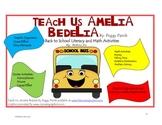 Teach Us, Amelia Bedelia Back to School Literacy and Math
