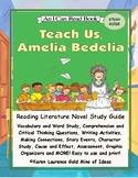 Teach Us, Amelia Bedelia by Peggy Parish Primary Study Guide Teaching Unit