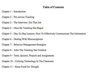 Teach Well and Maintain Your Sanity - eBook Sample