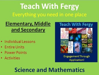 Teach With Fergy Resource Listing