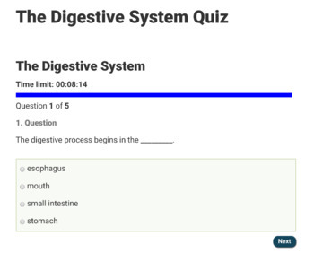 Teach With Fergy Online Science Quizzes