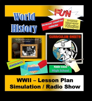 Honors World History / WWII - Student Centered Learning (complete unit)