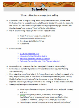 Teach Writing With Technology