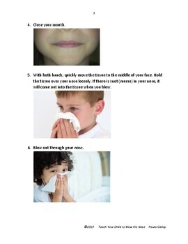 Teach Your Child How To Blow His Nose (with pictures)