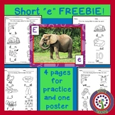 """Free Download - Teach Your Students the Short """"e"""" Sound!"""