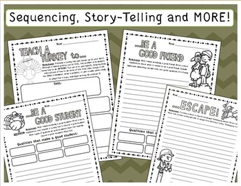 Teach a Turkey To... (Thanksgiving and Fall Writing Activities)