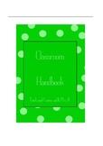 Teach and Learn with Mrs A's Customisable Classroom Handbook