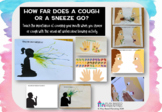 Teach children cough etiquette. Visual covid distance lear