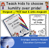 Teach Kids to Choose Humility Over Pride - A Christian Book & FREE Coloring Book