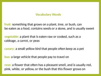 Teach new vocabulary