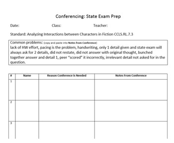 Teach students to score their ELA short answers: 10 Task Cards