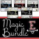 Magic E: Long Vowels {Long Vowel Word Work, Games, Student Reader}