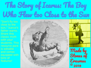 Teach the Cautionary Tale of Icarus: The Boy Who Flew Too Close to the Sun