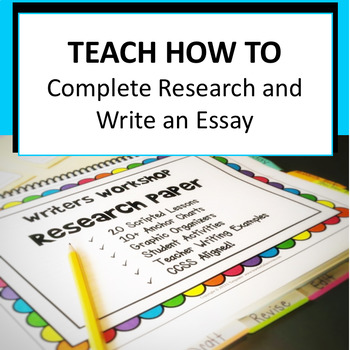 Writers Workshop Research Paper
