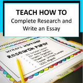 Research Project, Writing Workshop