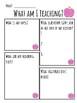 Teach the Teacher - End of Year Activity