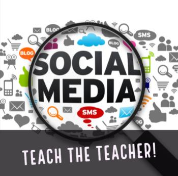 Teach the Teacher about Social Media in a Screencast!