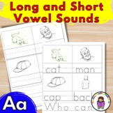 Teach the Vowels: Short/Long Aa Worksheets (FREE!)