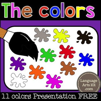 Teach the colours | Enseigner les couleurs | Enseñar los colores