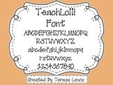 TeachLolli Font