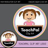 TeachPal Clip Art Credit Logo