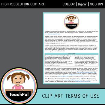 TeachPal Clip Art Terms of Use