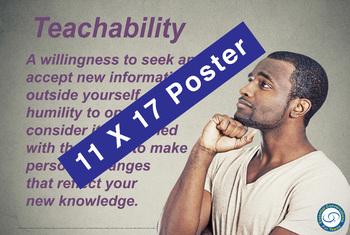 Teachabilty 11 X 17 Poster