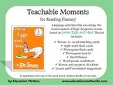 Teachable Moments for Reading Fluency: Green Eggs & Ham