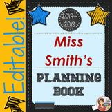 Teacher Planner & Organizer (Editable)