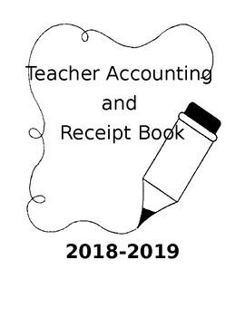 Teacher Accounting and Receipt book