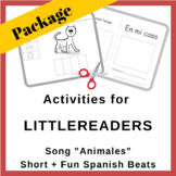 Teacher Activity Package for Song Animales   Short + Fun S